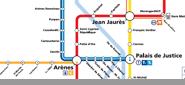 Metro -Tram map